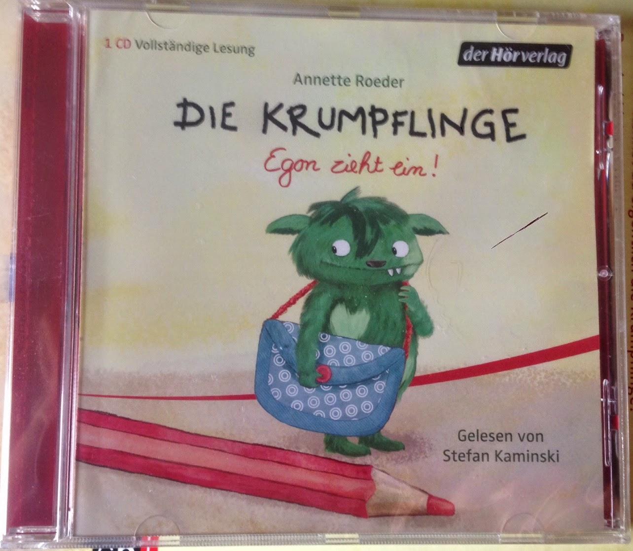 Die Krumpflinge – Egon zieht ein! (Hörspiel)