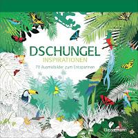 Dschungel Inspirationen – Ausmalbuch für Erwachsene