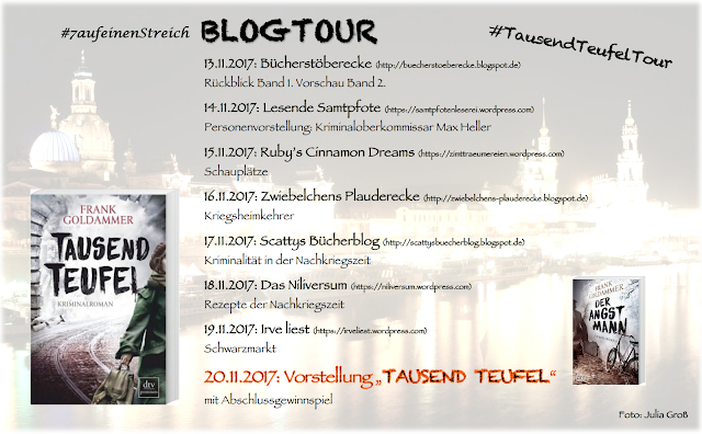 Blogtour-Ankündigung: Tausend Teufel