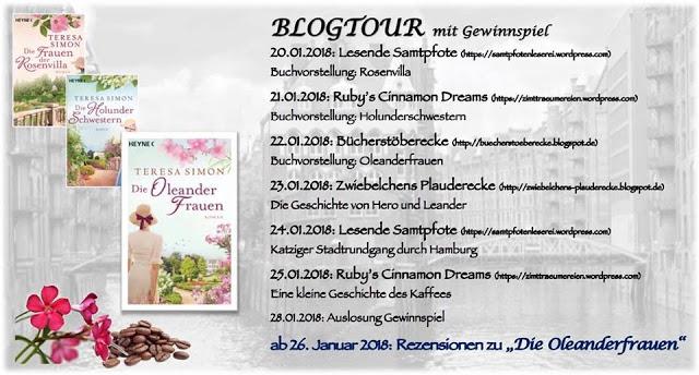 "Auslosung: Herzensblogtour ""Oleanderfrauen"""