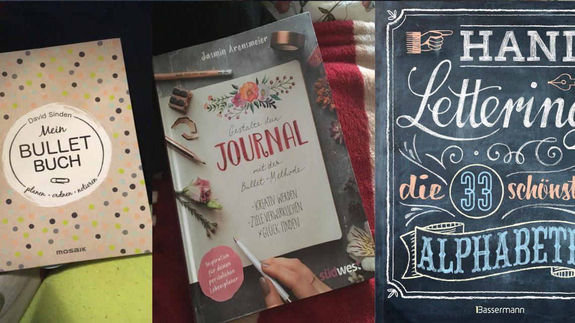 Mein Bullet Buch + Gestalte dein Journal + Handlettering