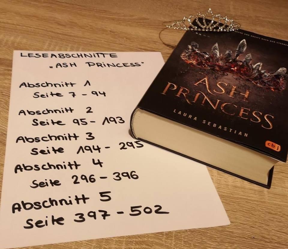"""Lesetagebuch """"Ash Princess"""" – Abschnitt 2"""